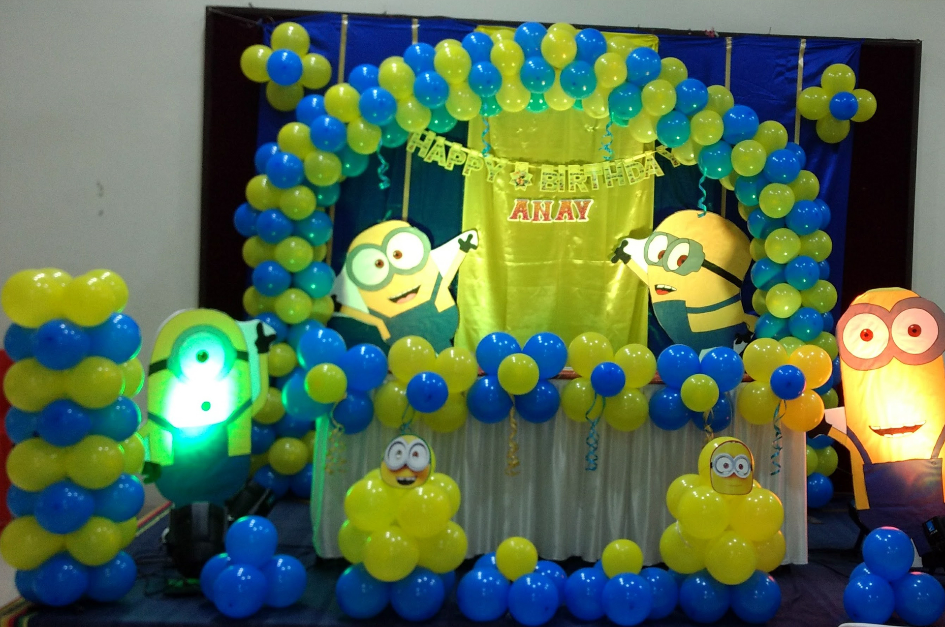 Birthday Party Planner Udaipur Balloon Decoration Sound Anchor Game