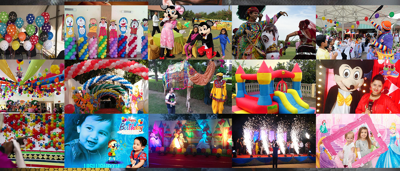 Birthday Party Planner in Udaipur